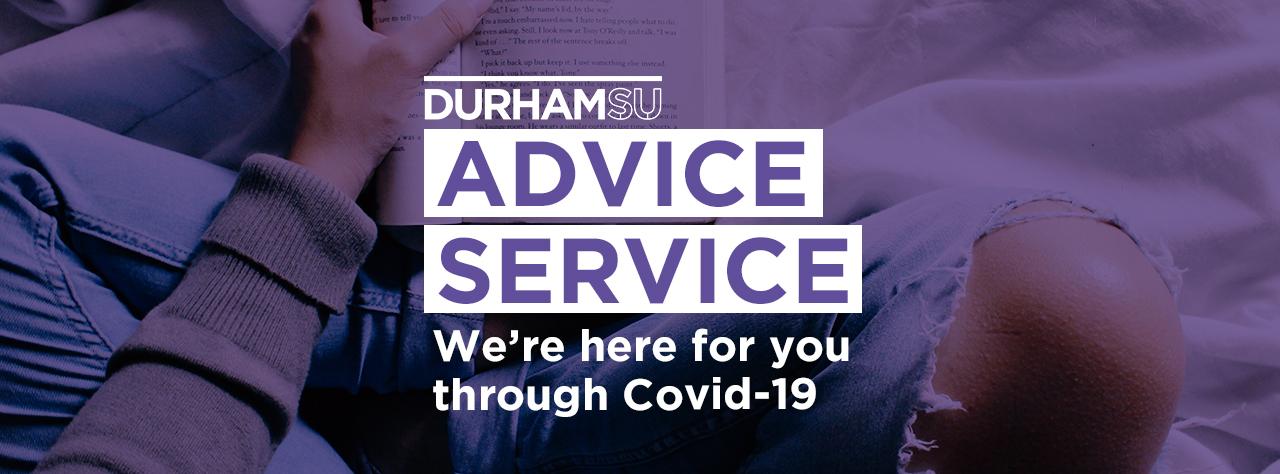 Advice service homepage