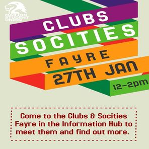 Clubs and socities fayre