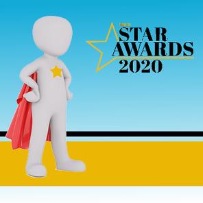 Star awards web tile
