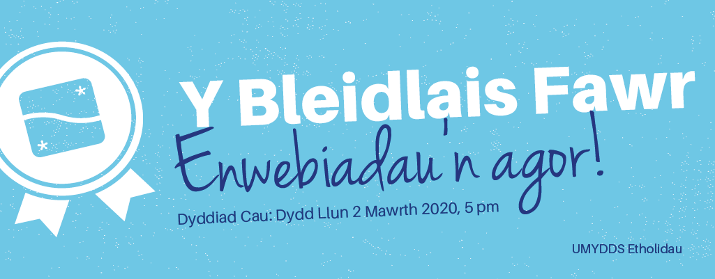 Welsh   the big vote   nominations
