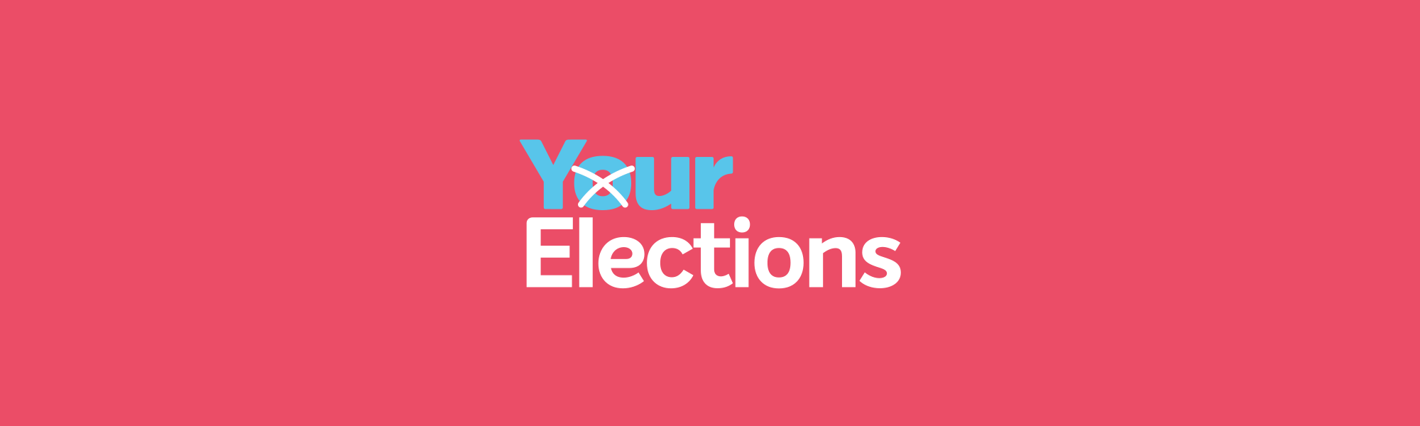 Full width banner elections
