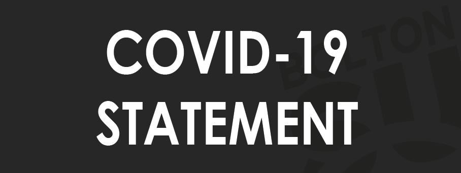 Covid 19 statement 01