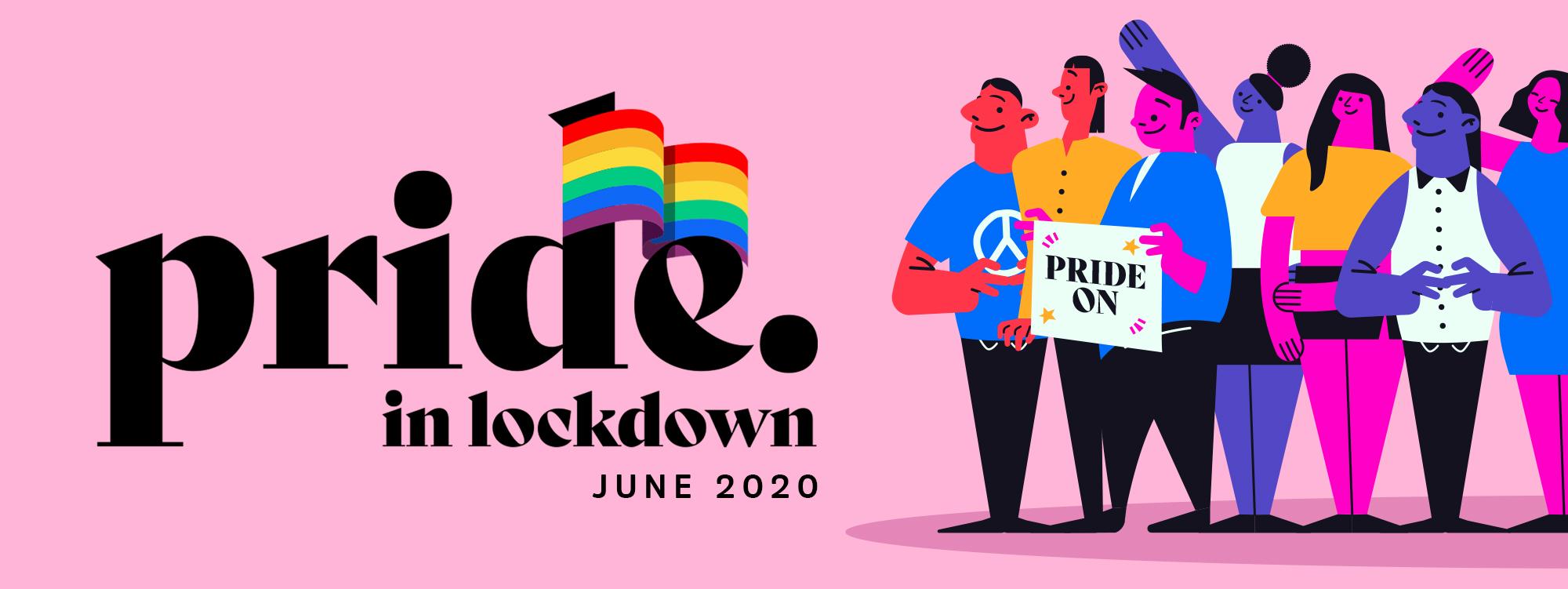 Pridelockdown website banner