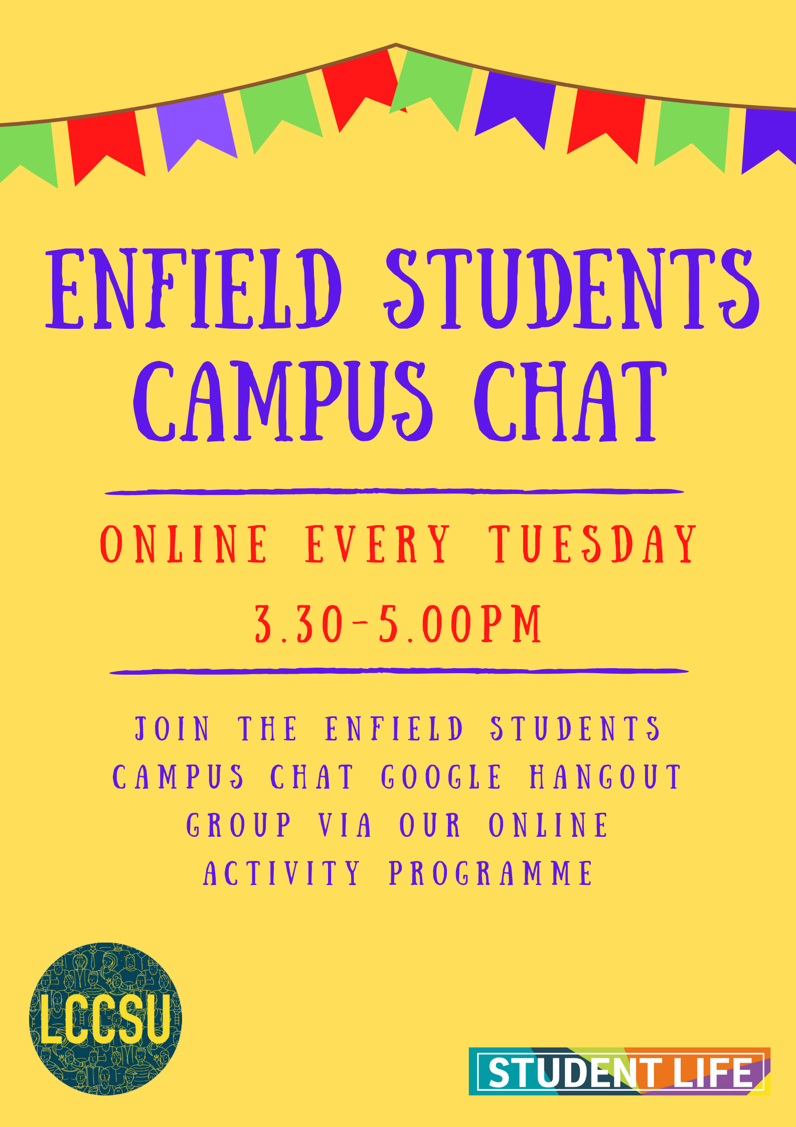 Enfield students campus chat website