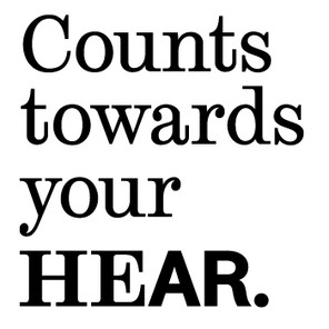 Hear counts towards black