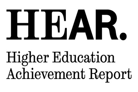Hear achievement report logo black
