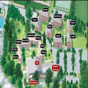 Bicton map