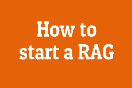How to start a rag