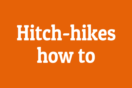 Hitch hikes