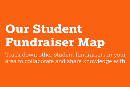 Our student fundraiser map