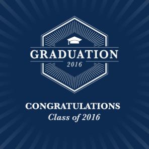 Graduation slider tiles congratulations