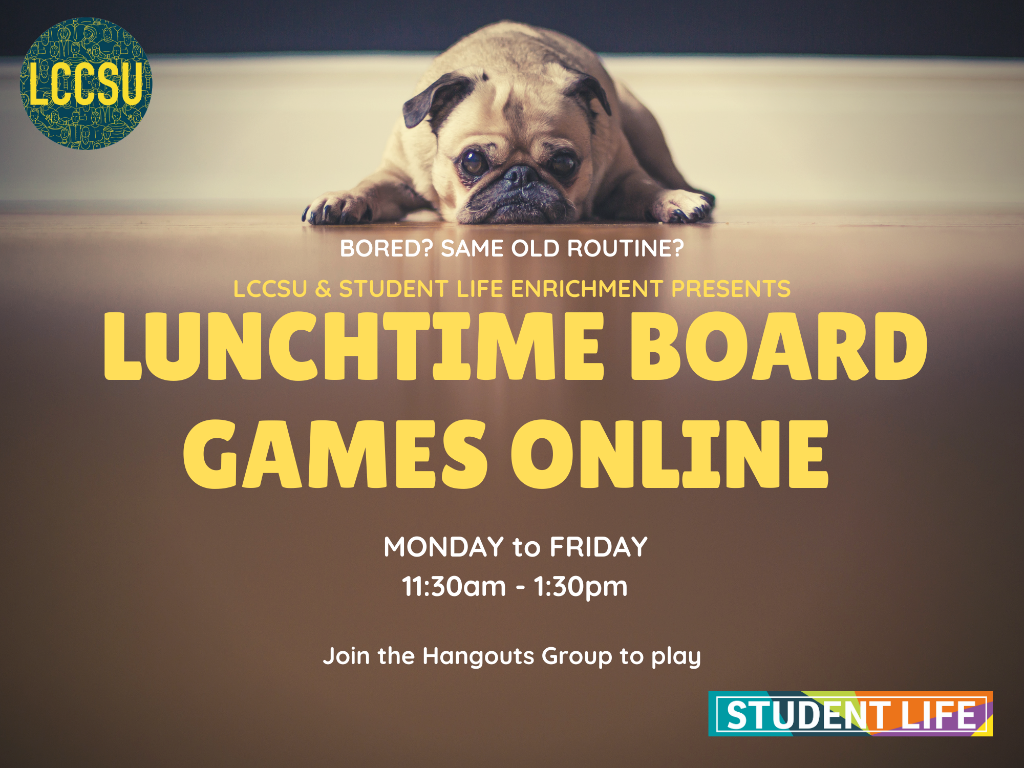Lunchtime board games website