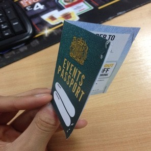 Events passport