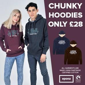 Chunky hoodies