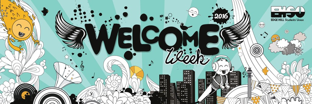 6x2 welcome week banner