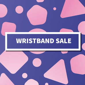 Freshers 19 fb cover square wristband sale
