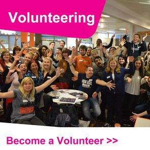 Volunteering homepage