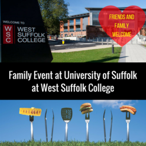 Family event at university of suffolk at west suffolk college