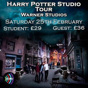 Harry potter studio tour poster