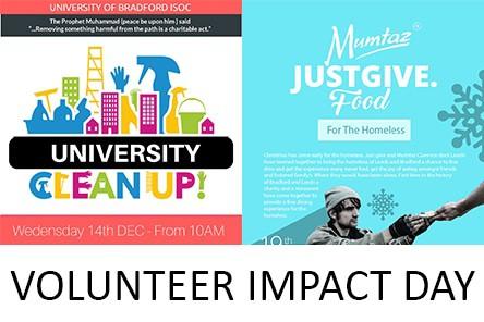 Web volunteer impact day
