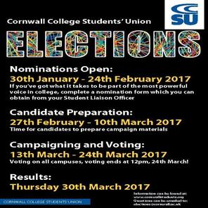 Election dates 2016