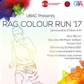 Colour run square