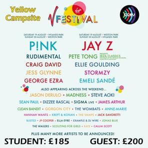 V festival poster