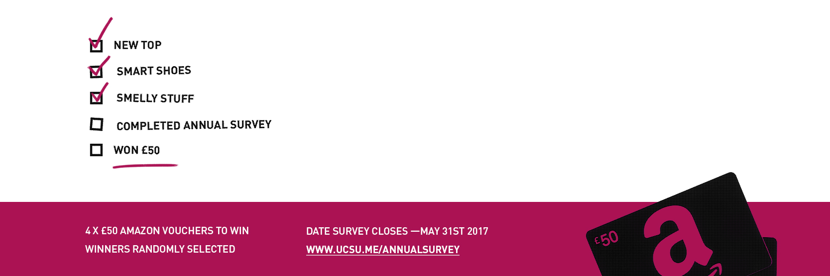 Web banner annual survey