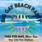 Big gay beach party 9th may