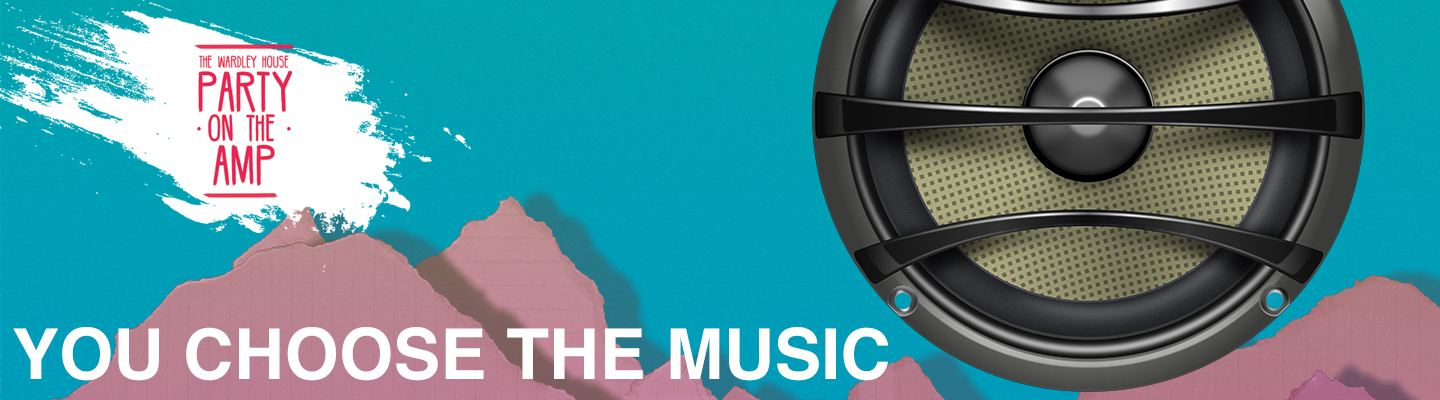 Website banner choose music
