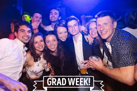 Nights out photo for graduation page
