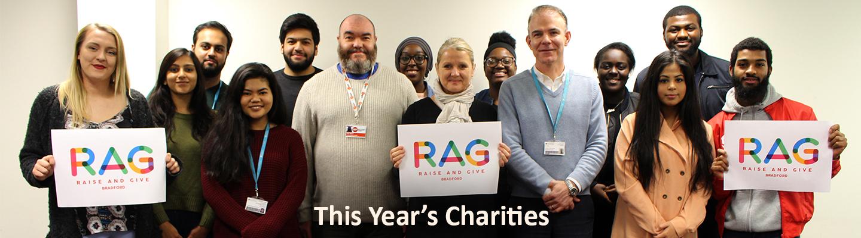 Banner this years charities