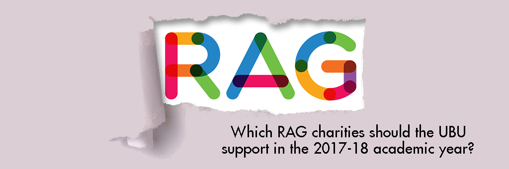 Rag charities header