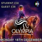 Olympia horse show 2017 poster