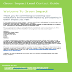 Lead contact guide