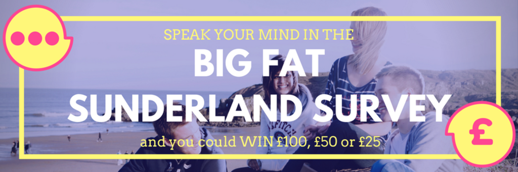 Big fat sunderland survey web scroller