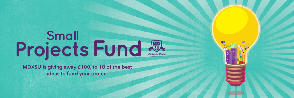 Small projects fund banner