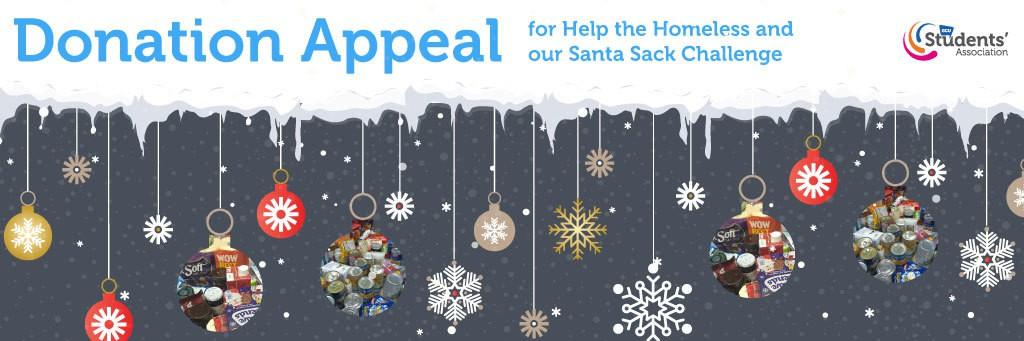 Santa sack appeal scroller