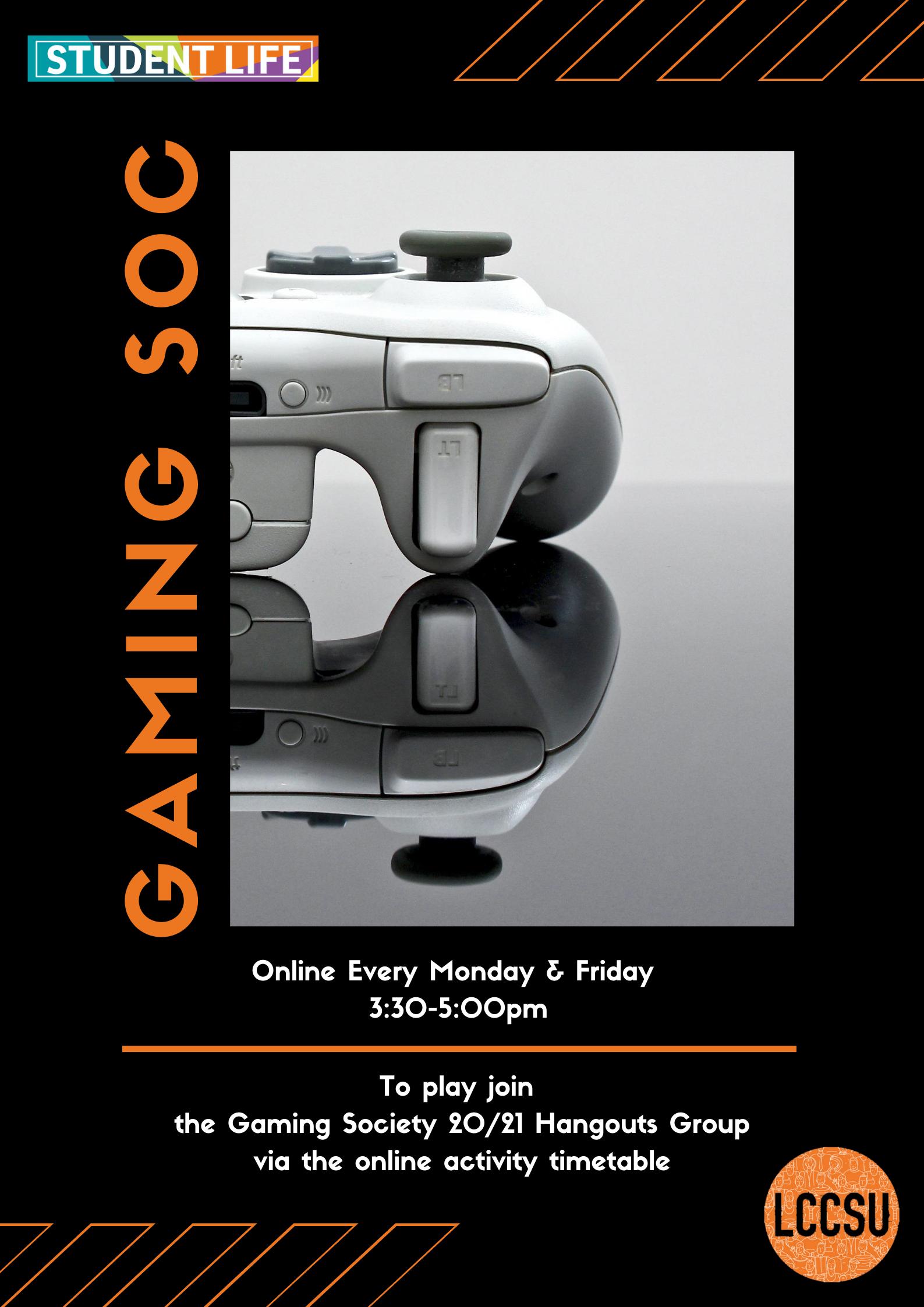 Gaming soc website