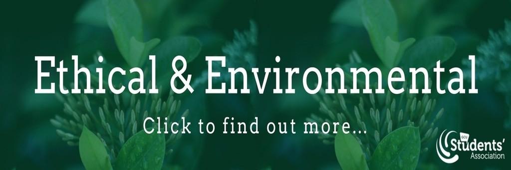 Ethical   environmental banner