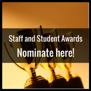 Nominated by students for staff.fw