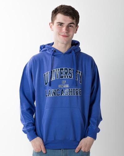 American hoodie royal blue