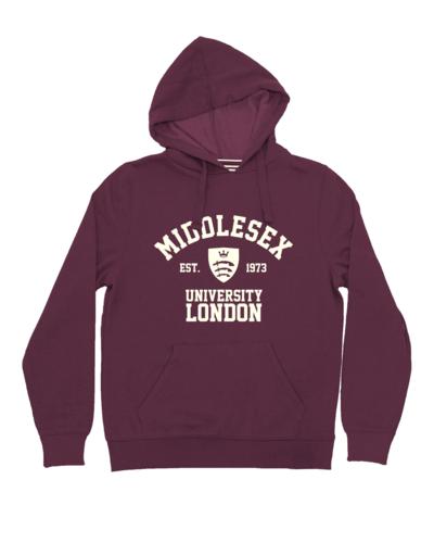Core hoodie plum
