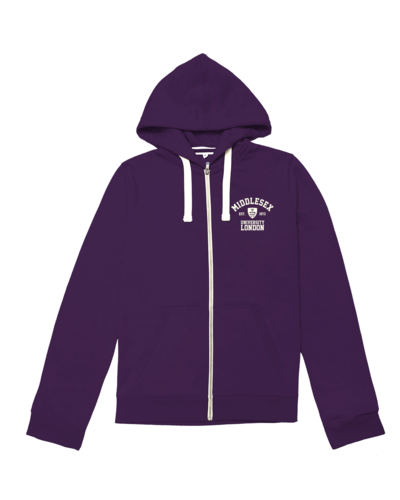 Zip hoodie vintagepurple