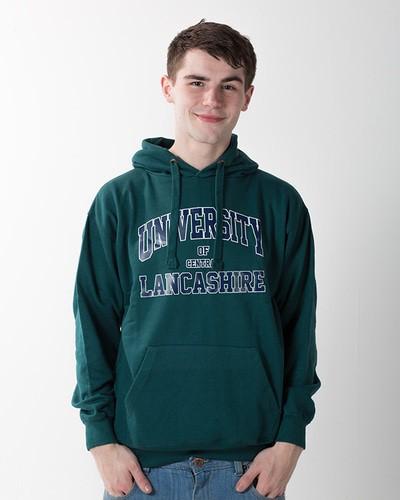 American hoodie pacific green