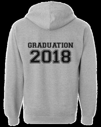 Grad hoodie mockup 2018