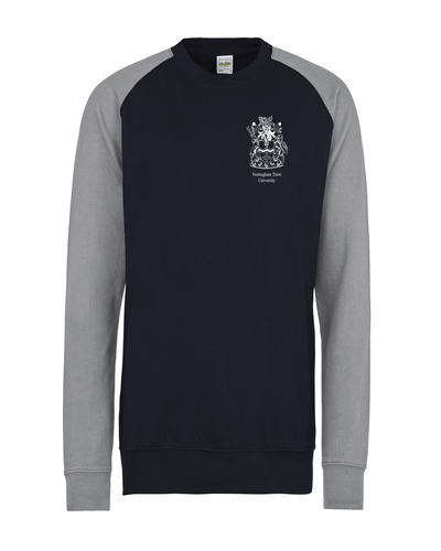 Jh033 oxford navy heather grey