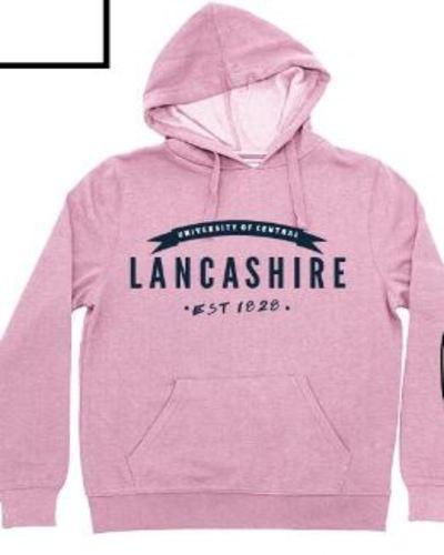 Pink core hood