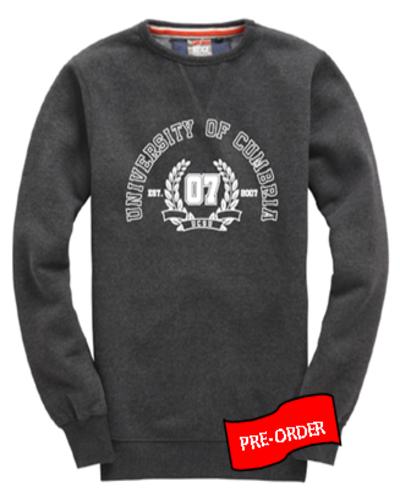 Sweatshirt black melange