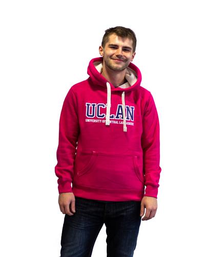Dark pink hoody